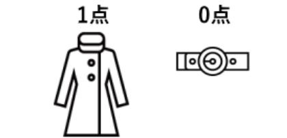コート1点 コートの付属ベルト0点